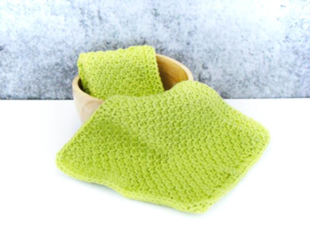 Honeycomb Spa Cloth Tunisian Crochet