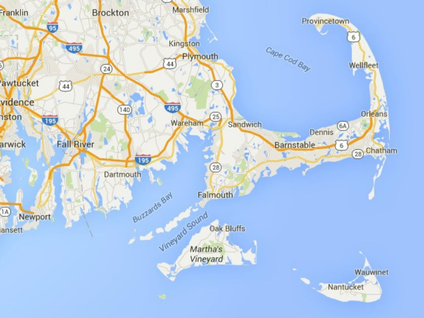 Bayside Tent services all of the Cape, South Shore, and Southeastern, Massachusetts. Our proximity to the Mid-Cape Highway, Route 3 and Route 495 ensures prompt service.