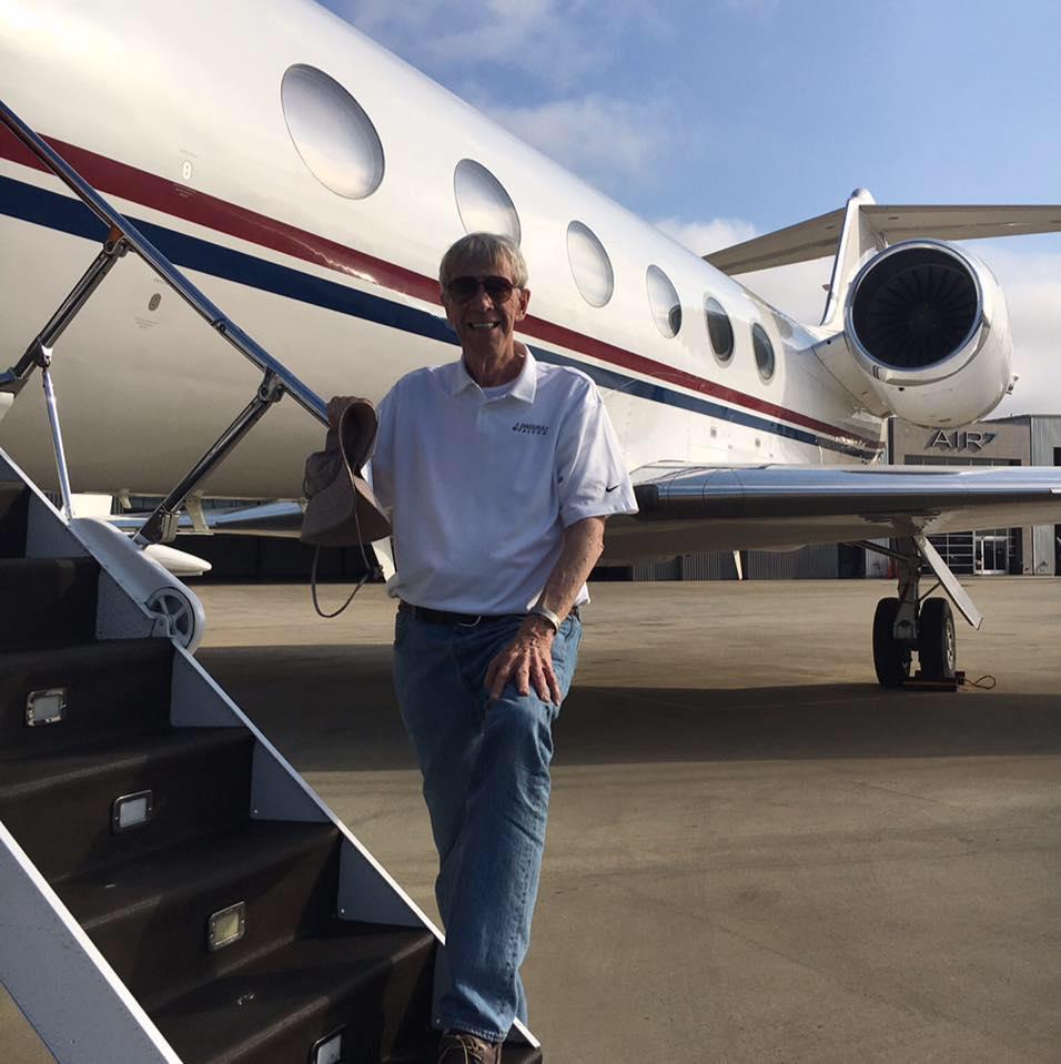 Pilot Mike Donahoe
