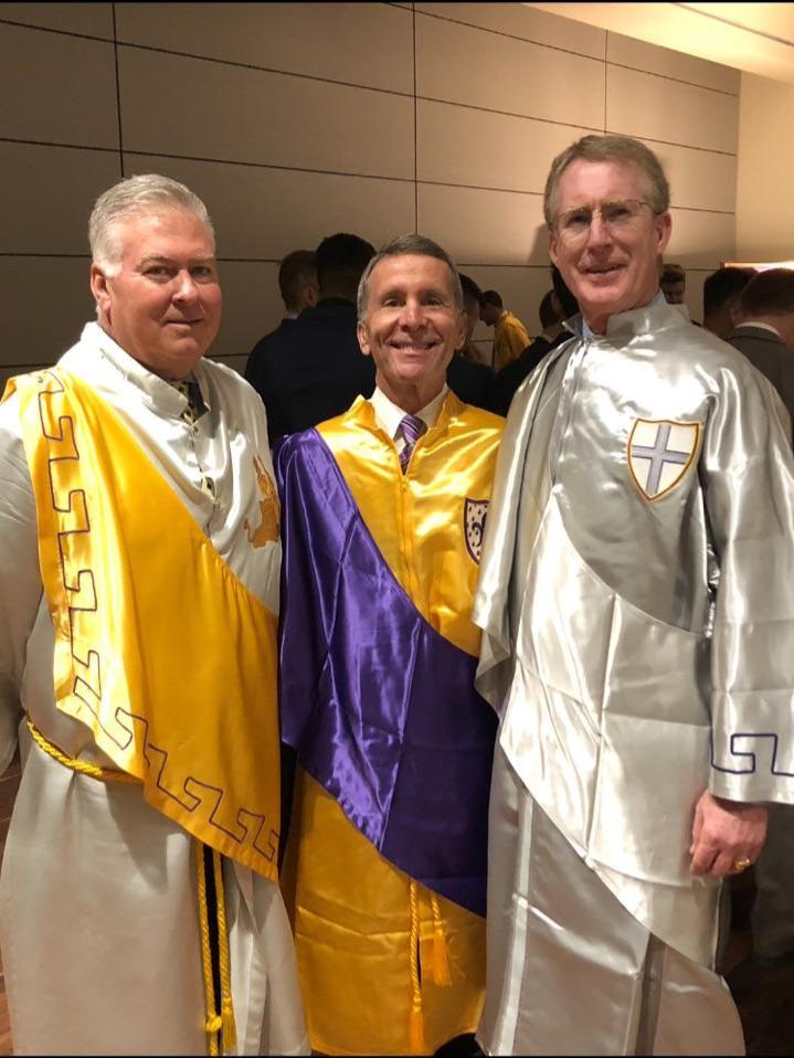 Three past Eminent Archons: Feb 16, 2019 - Ready for Arizona Beta installation and initiation ceremony