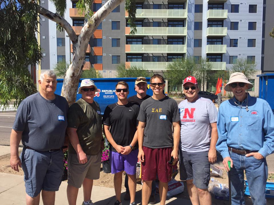 SAE Day of Service Maggies House 4/22/17
