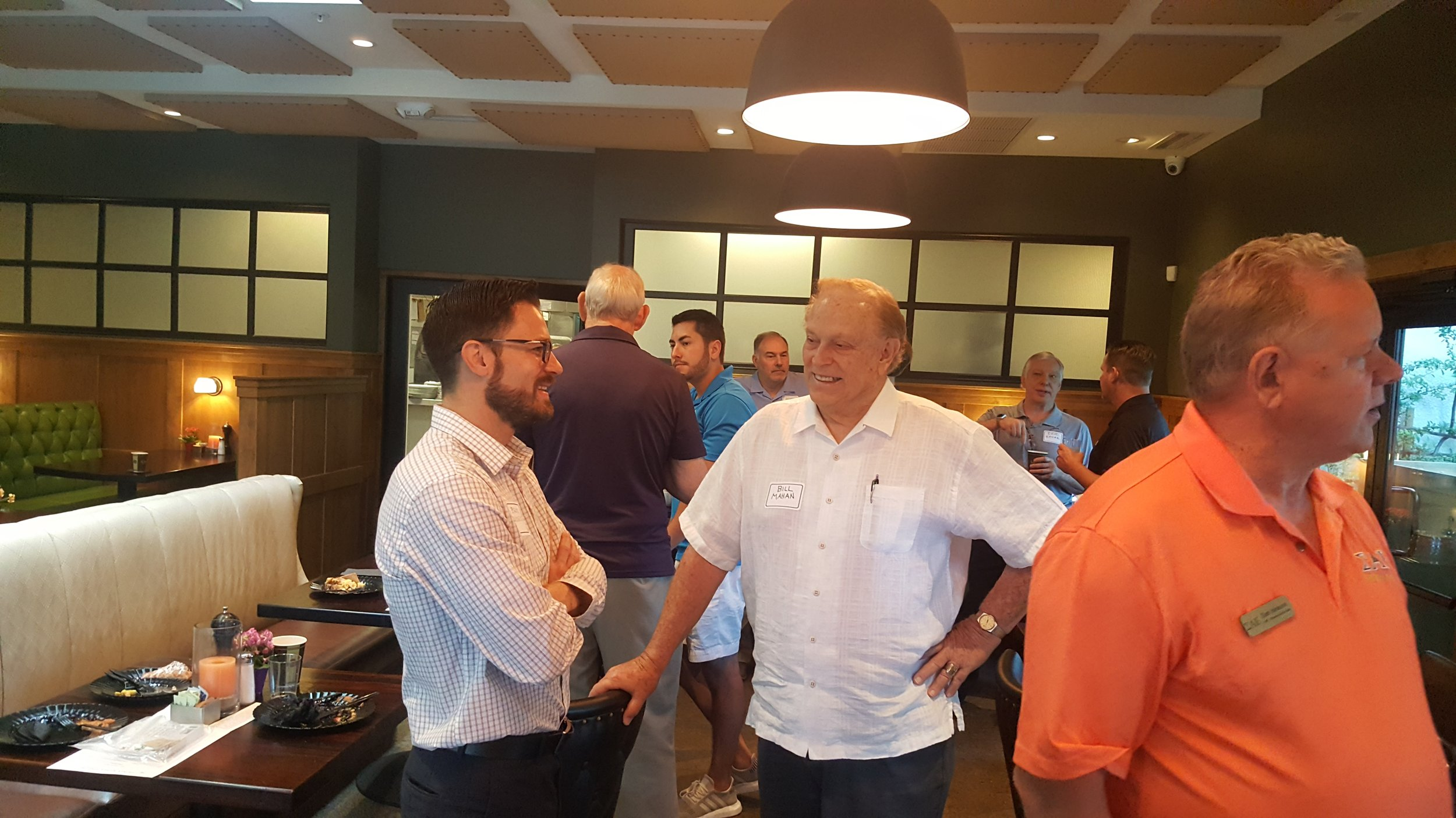 Real Estate update - Local real estate brokers Brock Rideout (AZ Beta '93) talked with long time Phx resident Bill Mahan, AZ Beta '65 about the booming housing market.