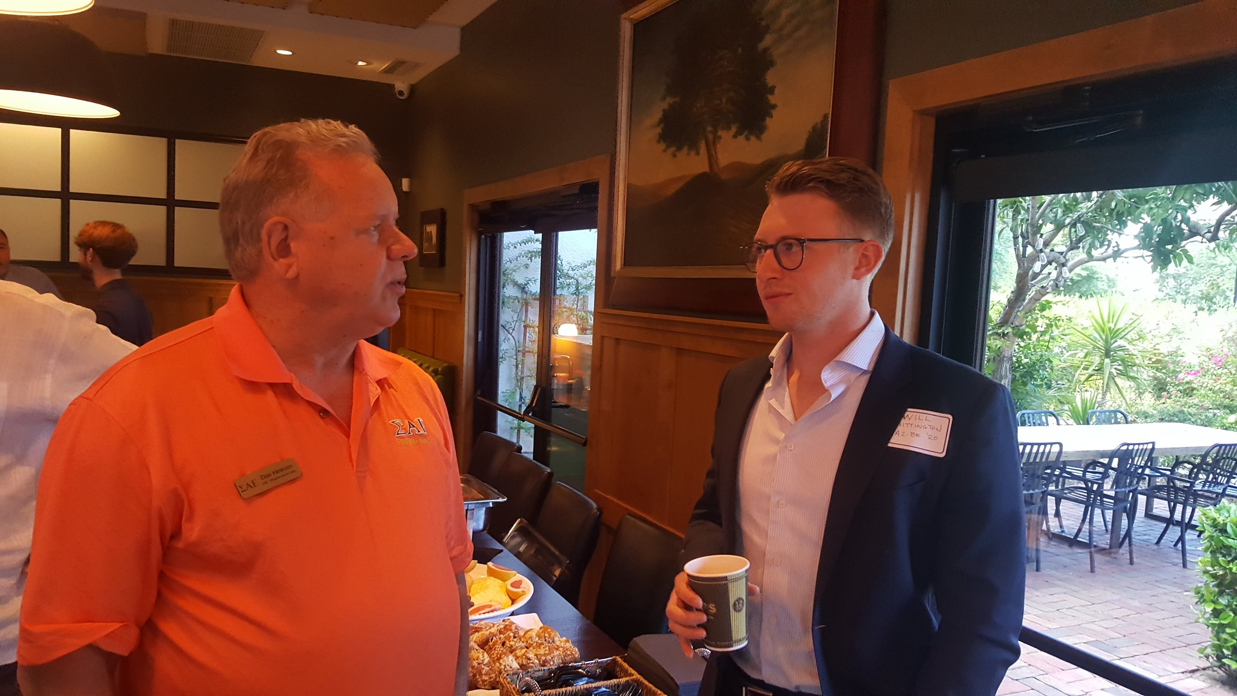 Future interview - Dan Hinkson, MO Delta '78 discusses development & construction market in Phoenix with undergrad Will WIllingham, AZ Beta '20.