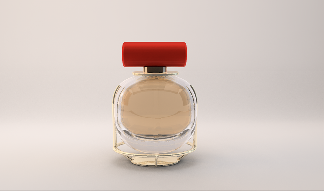 fragrance bottle - high luxury french brand