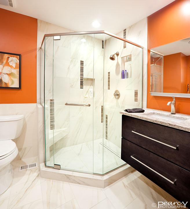 Contemporary Master Bath Remodel