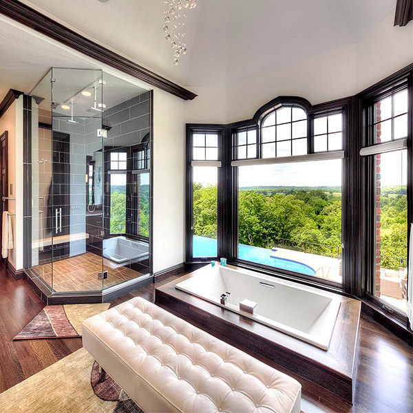 Luxury Modern Master Bath