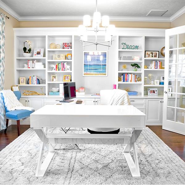 Modern Beach Home Office