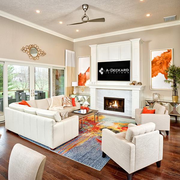 Modern Beach Living Room