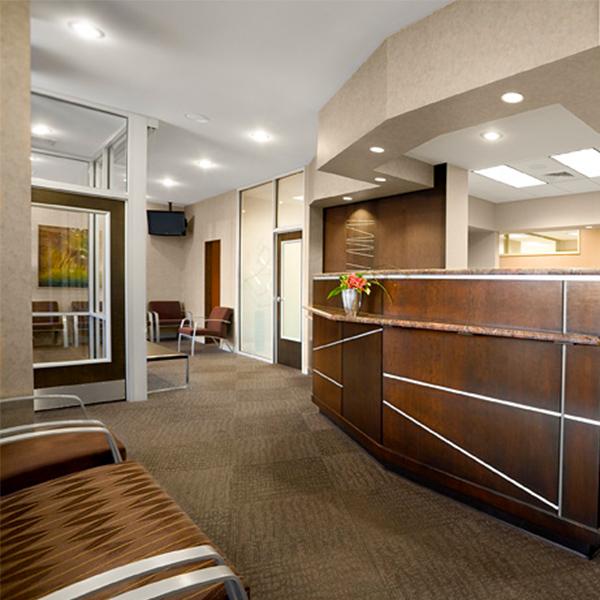 Modern Reception Doctor Office