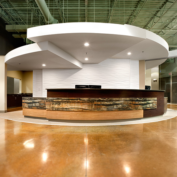 Architectural Modern Corporate Reception