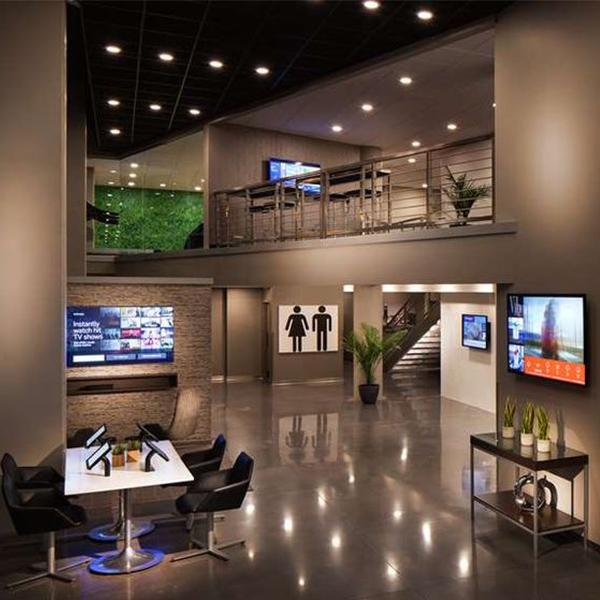 Hospitality Boutique Style Lobby Lounge