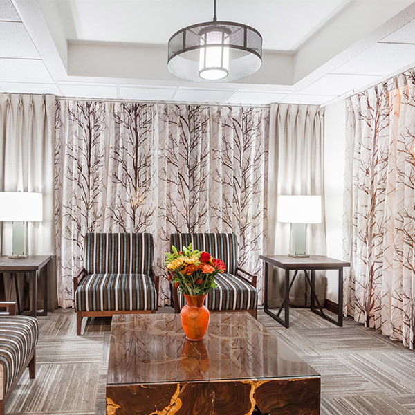Hospitality Rustic Mod Lobby
