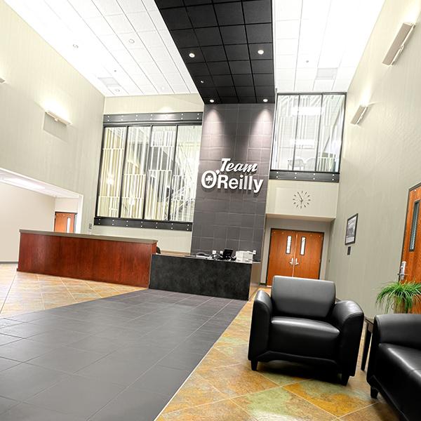 Corporate Lobby Reception