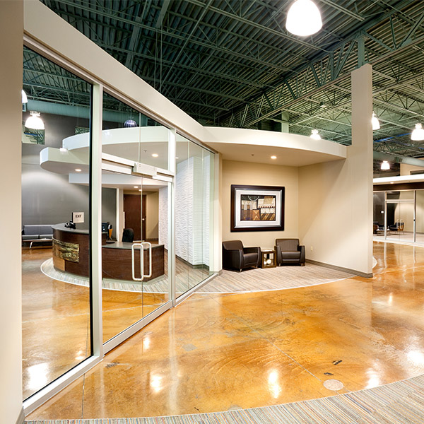 Corporate Modern Open Office