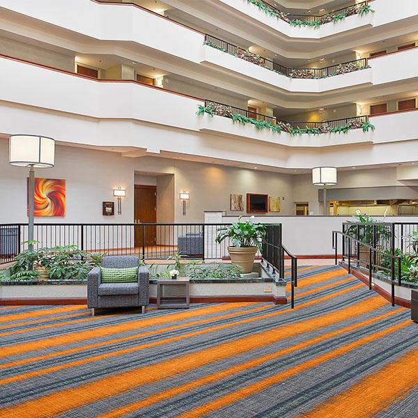 Hospitality Hotel Atrium Lobby