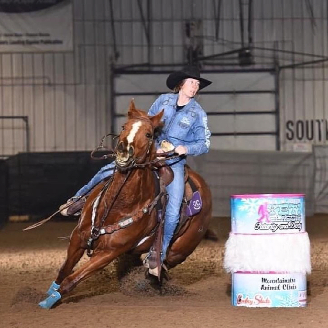 My Flittin Heart - Owned by Aspen Cok | Heart C Barrel HorsesRidden by Michelle Luckey