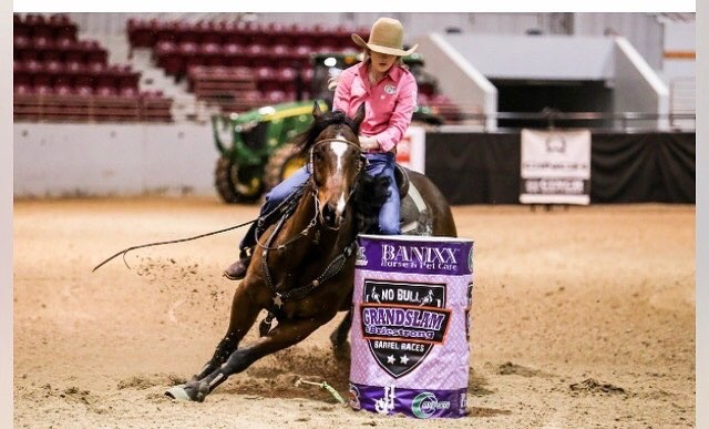 Heart Of Fame - 2018 WBRL Kickoff Futurity WinnerOwned & Ridden by Laney Robinson