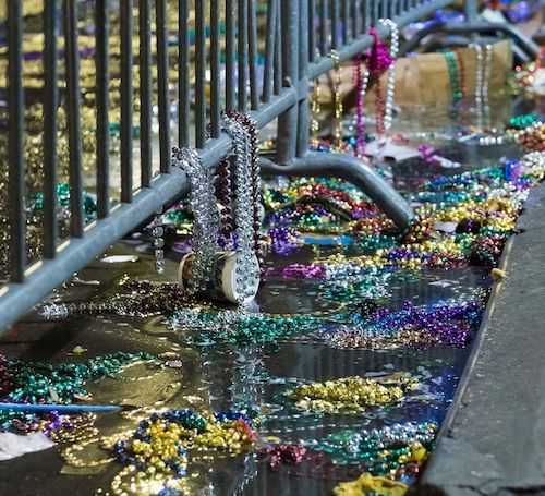 What Happens to All Those Beads After Mardi Gras? - The city of New Orleans pulled 93,000 pounds of beads from just five blocks of storm drains in 2018…BLOOMBERG.COM