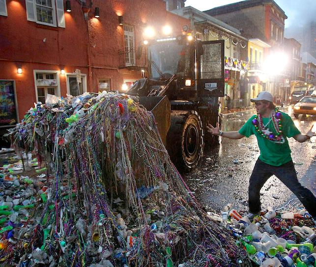 It's time to rethink Mardi Gras—without tons of plastic beads - Green groups are urging revelers to recycle, reuse, and reconnect with the pre-plastic soul of a great celebration….NATIONALGEOGRAPHIC.COM