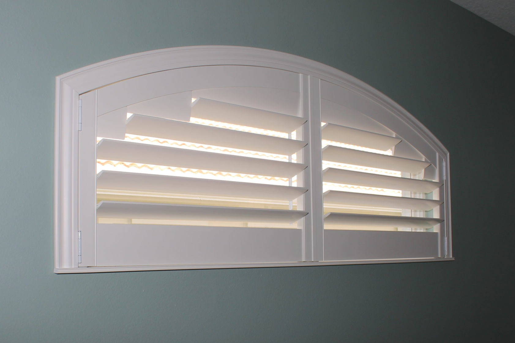 We can custom build shutters to fit any shape opening