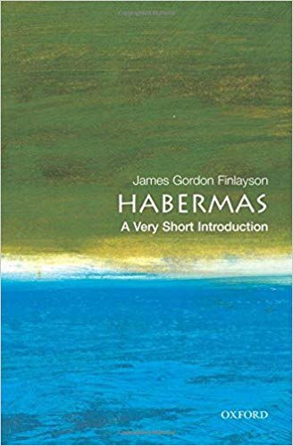 Habermas: A Very Short Introduction - Oxford University Press · August 2005Jürgen Habermas is the most renowned living German philosopher. This book aims to give a clear and readable overview of his philosophical work. It analyzes both the theoretical underpinnings of Habermas's social theory, and its more concrete applications in the fields of ethics, politics, and law. Finally, it examines how Habermas's social and political theory informs his writing on real, current political and social problems. The author explores Habermas's influence on a wide variety of fields--including philosophy, political and social theory, cultural studies, sociology, and literary studies. He uses a problem-based approach to explain how Habermas's ideas can be applied to actual social and political situations. The book also includes a glossary of technical terms to further acquaint the reader with Habermas's philosophy. Unlike other writing on Habermas, this Introduction is accessibly written and explains his intellectual framework and technical vocabulary, rather than simply adopting it.