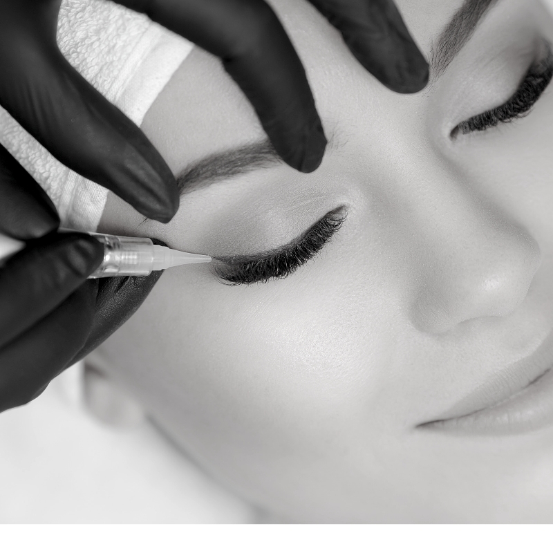 Envy PMU permanent makeup and cosmetic tattooing of eyeliner in Charlotte, NC.