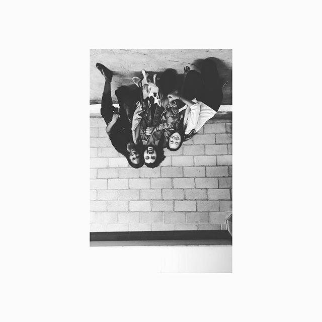 #blackandwhite #upsidedown #losangeles #latergram we missed you already @eyreene
