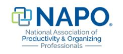 Proud member of the national association of productivity and organizing professionals.