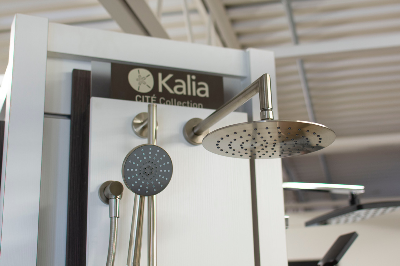 Splendid Simplicity - The Cité Collectionshowcases the pure, clean lines characteristic of Kalia products. These faucets are fresh and modern with universal appeal. If you like simple but elegant and the latest technology... get back to basics in your bathroom with the Cité Collection.