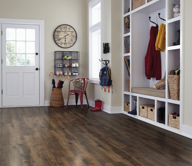 Laminate Flooring - Designed to stand up to real life and look good doing it. Worry less about what life throws at you. TORLYS Smart Laminate's exceptionally durable material is designed to withstand an active household while being virtually indistinguishable from hardwood – for a fraction of the price. Choose TORLYS Smart Laminate floors for transition-free*, seamless flooring throughout long hallways or doorways without any speed bumps to slow you down.