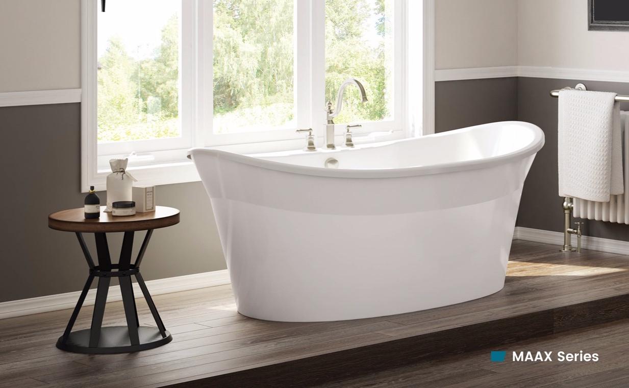 Bathware for home renovation projects - The MAAX series offers a perfect combination of style, quality and simplicity for renovation projects led by professionals and DIYers alike.