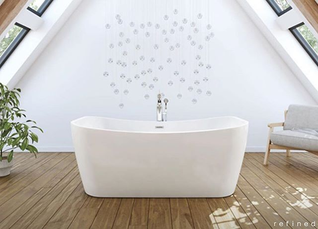 "🛁 MAAX, one of our trusted suppliers, states: ""Freestanding bathtubs have become increasingly popular. At one time considered a luxury that was reserved for the well to do, these bathtubs are now more accessible than ever, with models available for all tastes and budgets."" Freestanding bathtubs can add impact and a focal point to any bathroom and with focus on style AND comfort, MAAX delivers designs that are made to be appreciated and enjoyed for years. . With the size and shape options offered through MAAX, there is sure to be the perfect fit for your space, even if it's replacing a previous alcove tub...but make sure that the tub that fits the space still delivers the comfort and space required for you and your family members to get the maximum use and enjoyment out of it. Consider the type of tub needed for your application and installation whether it be a sleek one piece or a more flexible two piece unit that can accommodate features like deck mount tub fillers and massage systems. Choose your material based on your style and needs from acrylic to stone and everything in between. Each specific manufactured material offers features and functions that can impact your decision when considering durability, heat retention, maintenance and weight. . Now that practicality is considered, put some serious thought into the features that can completely transform your bathroom into a true oasis of comfort and luxury. Not only do you have air and water massage options for features, but have a peek at MAAX's Chromatherapy options and discover the power of colours to totally relax and rejuvenate your body and your mind. . https://maax.com/en . 96 Hanes Rd., Unit 4, Huntsville 705-787-1362 . . #RefinedMuskoka #RefinedKitchenAndBath #HomeDesignCentre #KitchenDesign #BathroomDesign #Muskoka #MuskokaLakes #MuskokaLife #CottageLife #HuntsvilleOntario #PropertyPrepCanada"