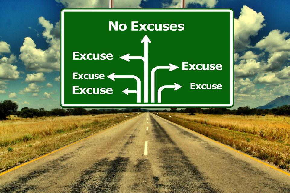 no-excuses-road-sign-public-domain
