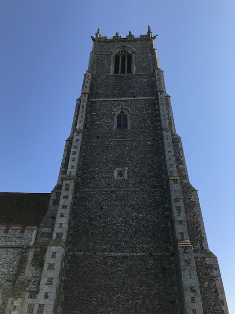 The magnificent church tower