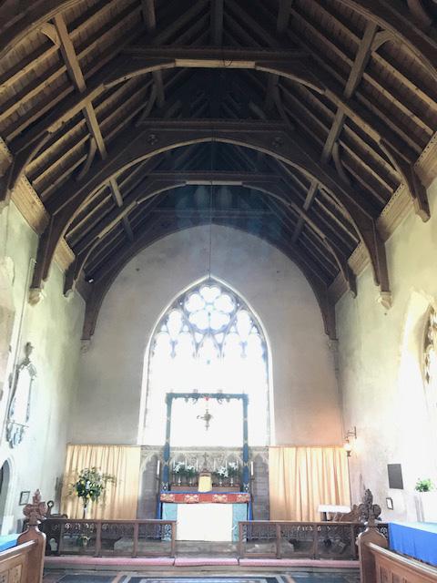 The high altar