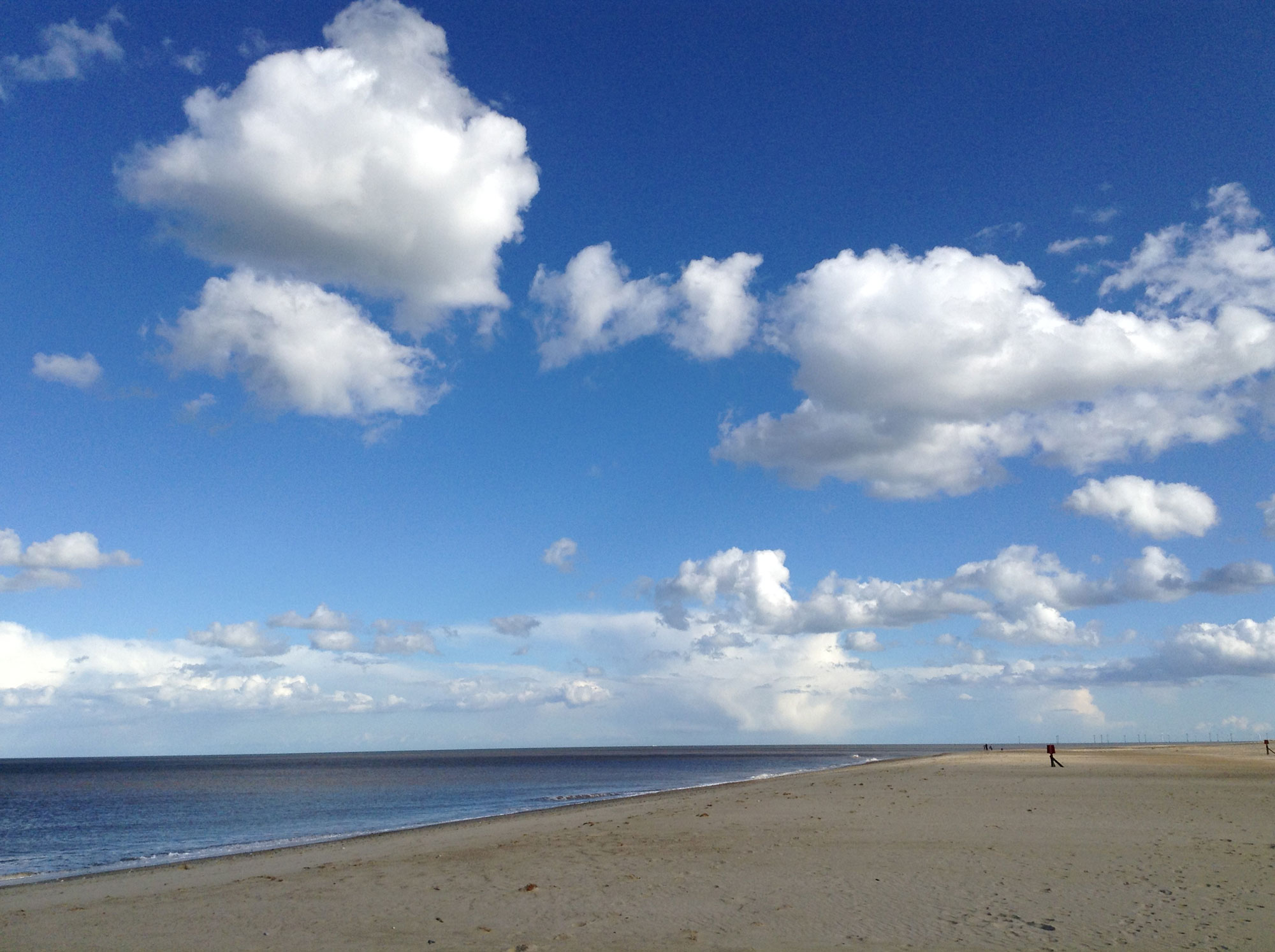 The famous Norfolk big skies