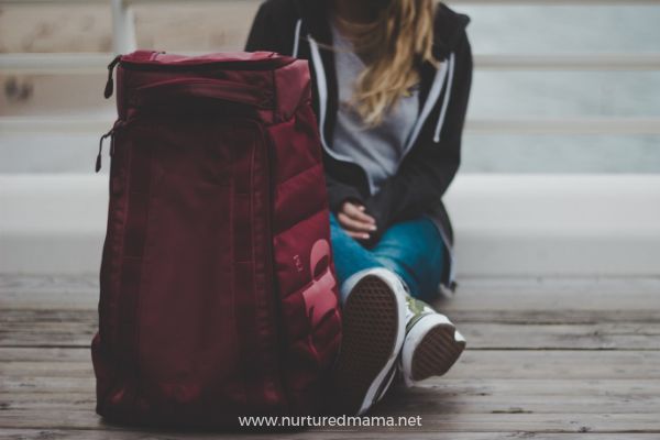Moms should travel, go on adventures, backpack, too!