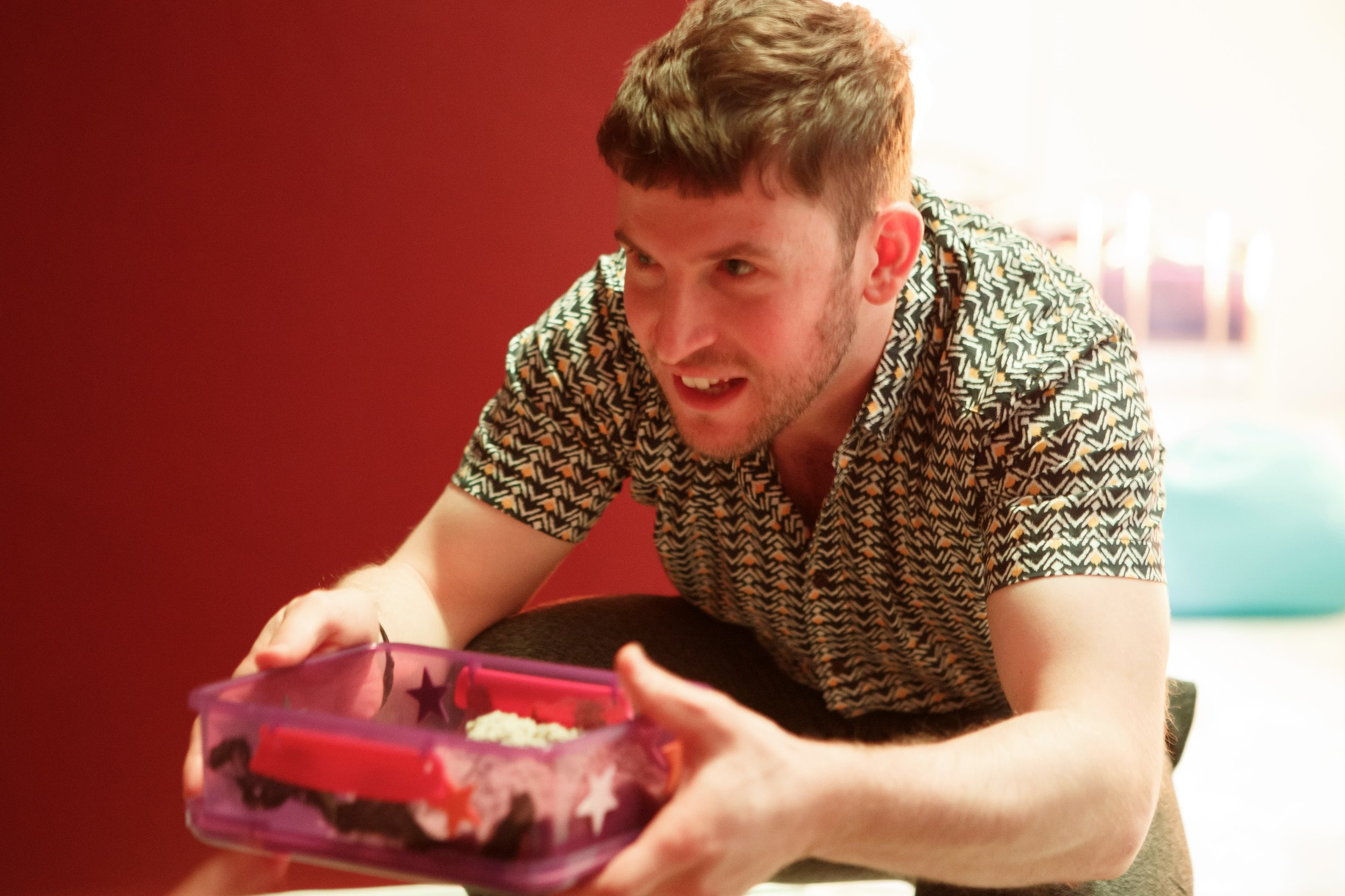 Robert Wade as Gareth. Photo:  Mark Kensett