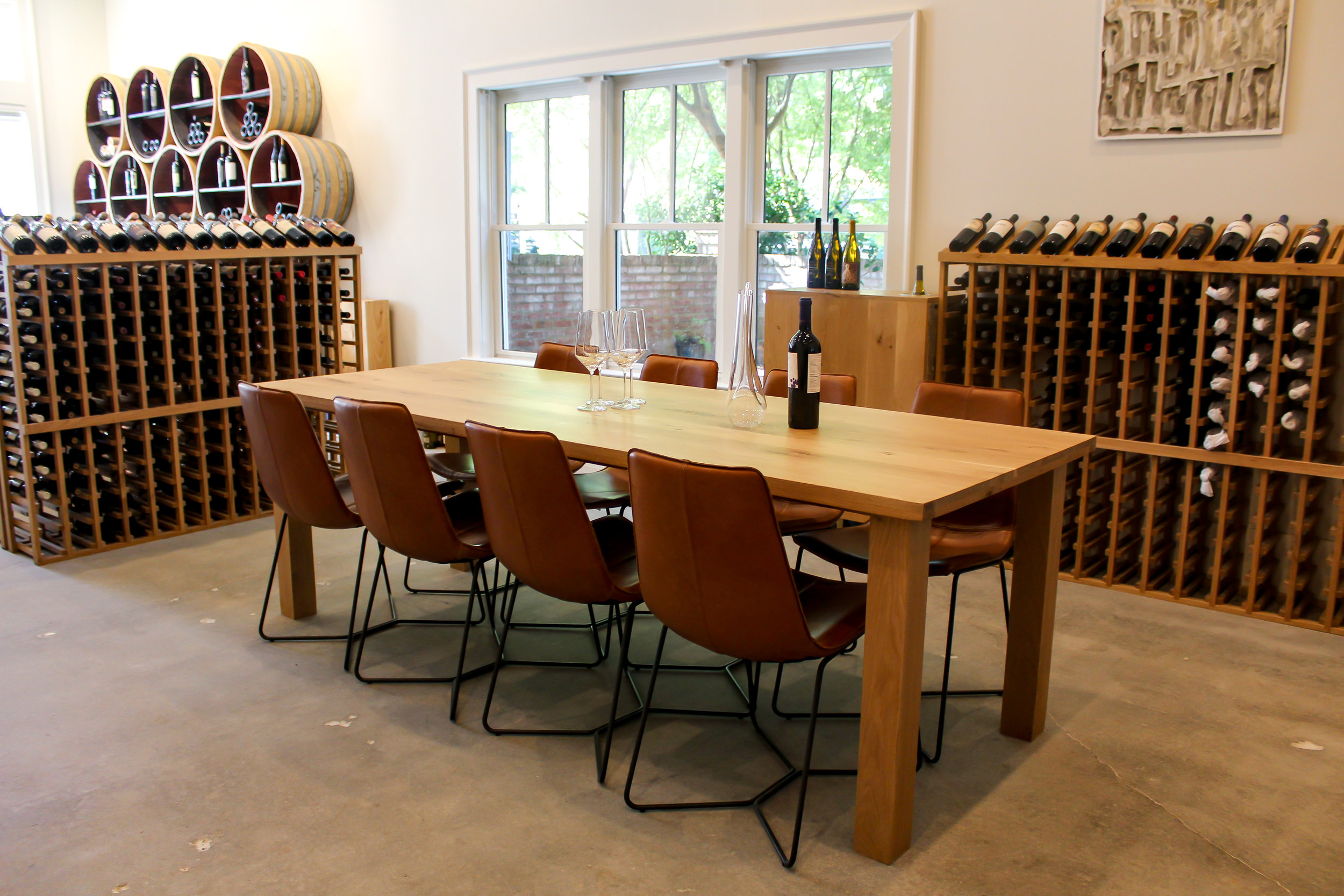 Private Wine Tastings - Enjoy a customized wine tasting for your group at The Wine Shop or in your home. Choose from reds, whites, sparkling or a combination. Snacks and cheese options also available. Contact us today to book.