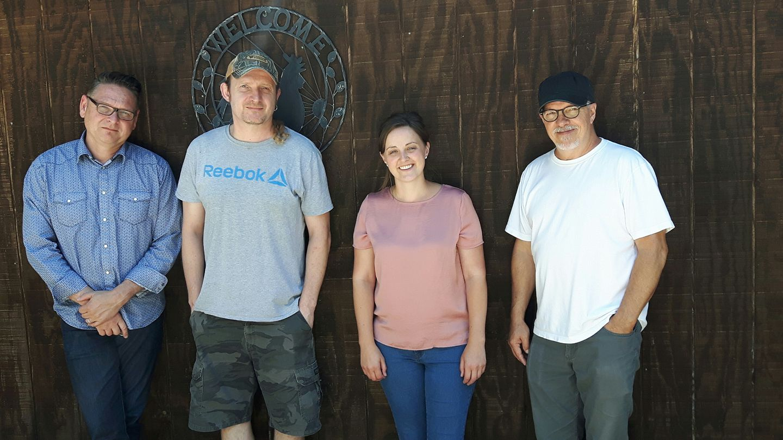 with Mark Fain, Thomm Jutz and Lynn Williams, Nashville