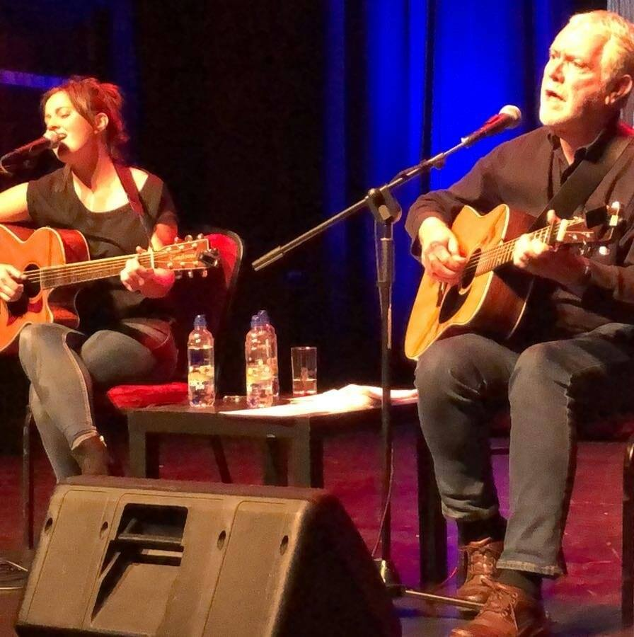 Gillian Tuite and Charlie McGettigan at The Ramor Theatre