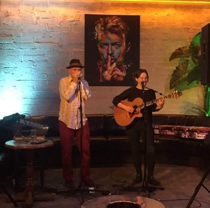 Dana Cooper and Gillian Tuite at The Bourbon Bar, Sligo