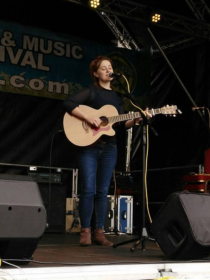 Gillian at Le Cheile Festival, Co. Meath