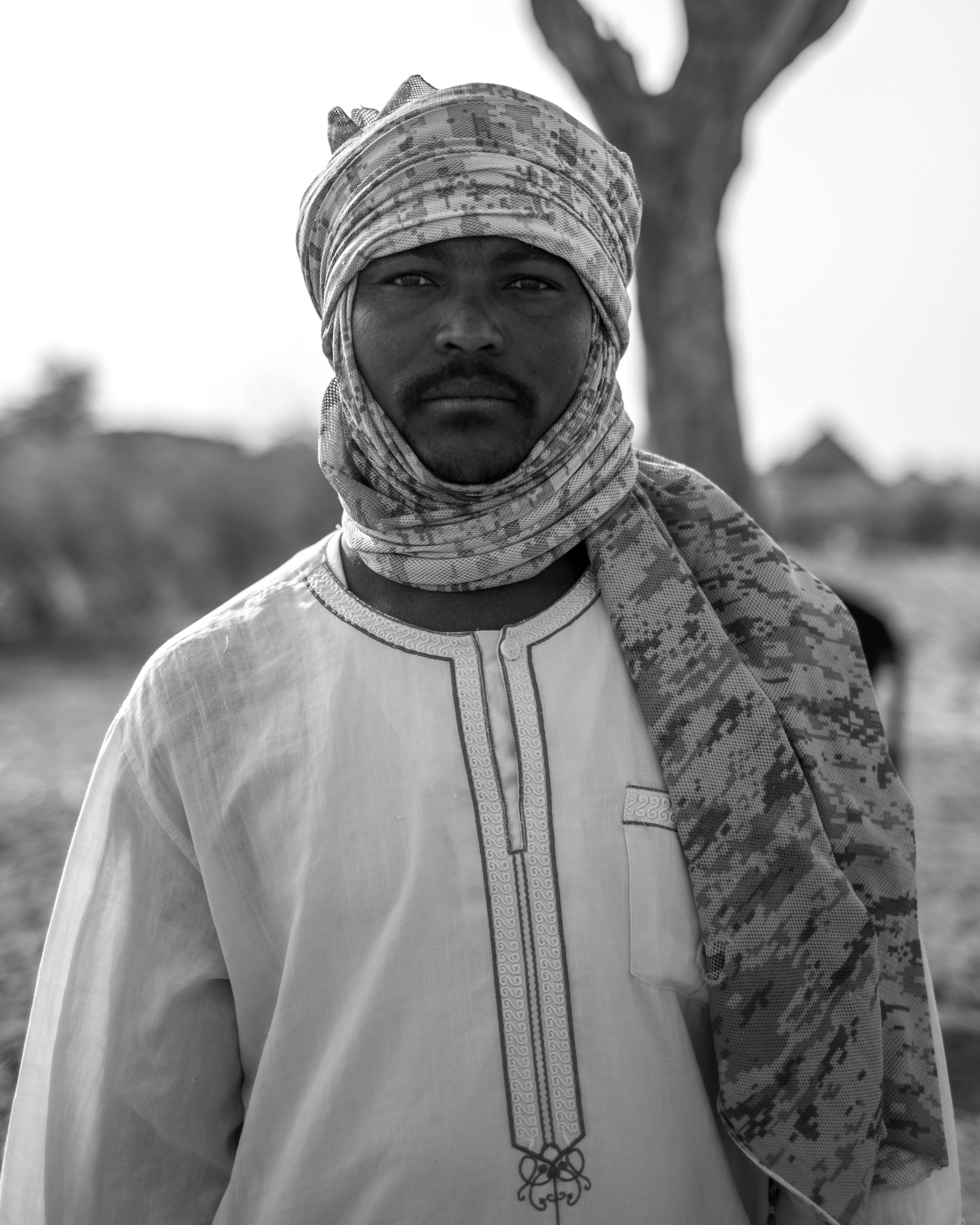 Portrait of a Janjaweed fighter