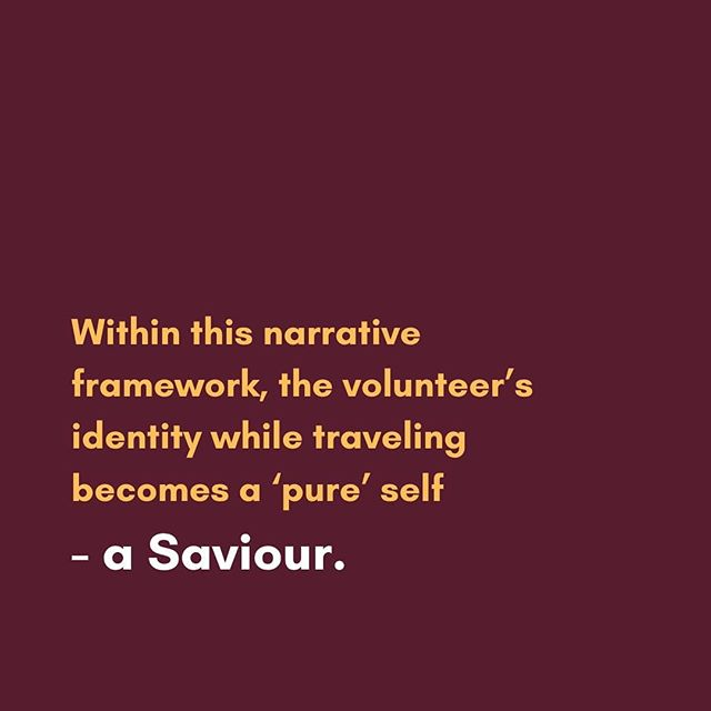 """🌍 Nadja Wipp unpacks voluntourism in her article """"Good intentions are not enough:"""" Self-Serving Altruism and the White Saviour Complex"""". She explores the detrimental effects this can have on people in the Global South and urges us to question why this is a socially acceptable norm. . . ☞ Click the link to read the full article """"Good intentions are not enough:"""" Self-Serving Altruism and the White Saviour Complex"""" by Nadja Wipp: https://www.thejfa.com/blog-1/good-intentions-are-not-enough-self-serving-altruism-and-the-white-savior-complex . . ➔ Do you have an article you would like to submit? Email angana@thejfa.com!"""