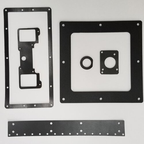 Poron Foam Gaskets - Poron has open-cell construction, which allows water, air, and gases to be absorbed. This consistent microcellular structure with fine and consistent open cells make Poron microcellular urethane an ideal dust gasket material making it suitable for many cleanroom applications.