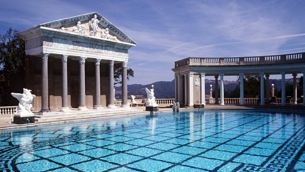 Gorgeous pool. I wanted to jump in but I think they might frown on that a little.
