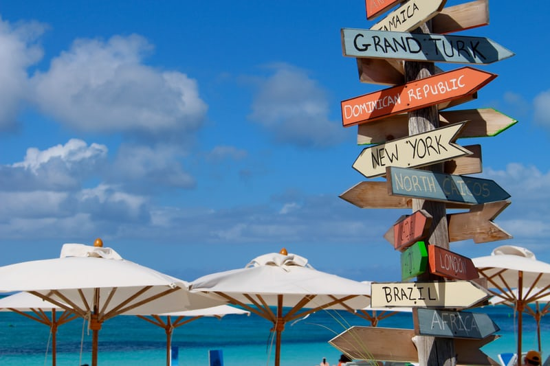 Turks and Caicos directional sign.jpeg