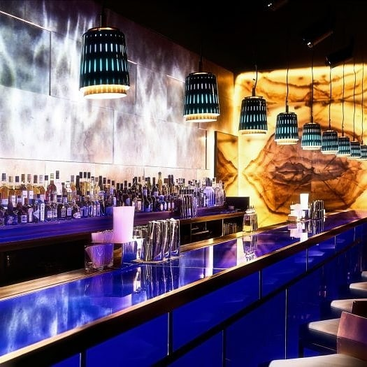 BARkeeper... #interiordesign #design #interiordesigner #custommade #art #interiors #custom #decor #instadesign #style #designer Hakkasan in Dubai, designer by Gilles and Boissier