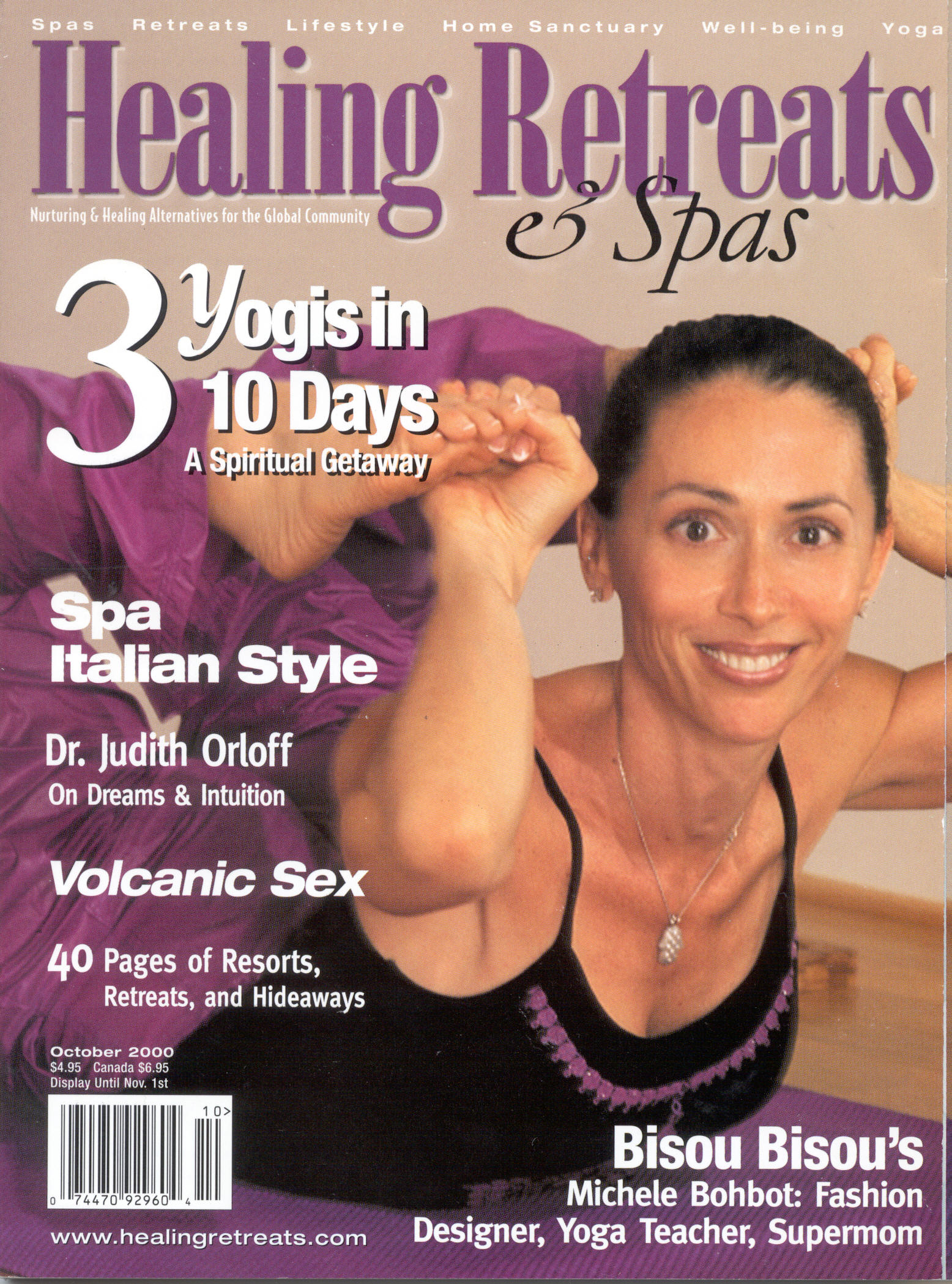 Healing Retreats & spas  oct. '00 cover page.jpg